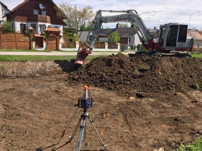 Grabungsarbeiten Abazaj Bau aus Mistelbach
